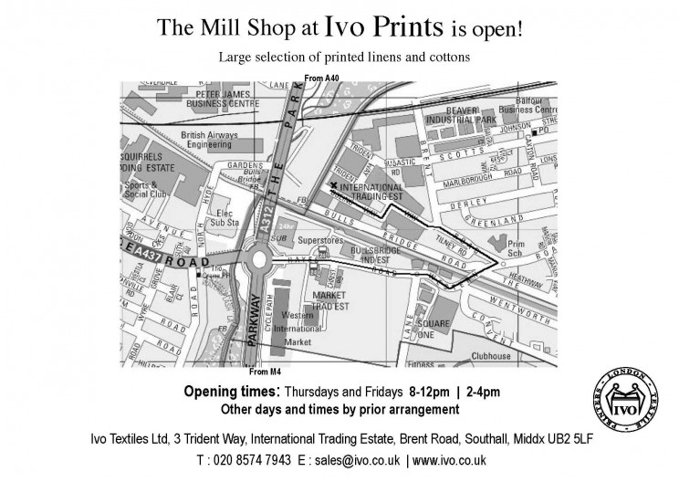 MILL SHOP POSTCARD BACK